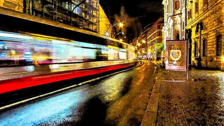 de laatste tram