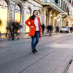 straat in Rome