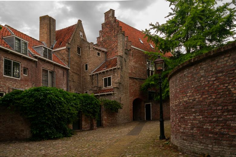 Van lang geleden. - Straat in centrum van Middelburg.