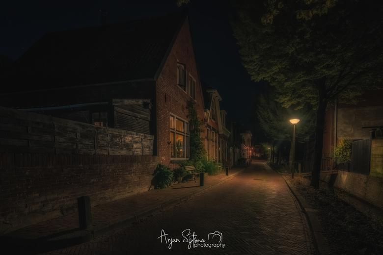 Westersingel bij nacht -