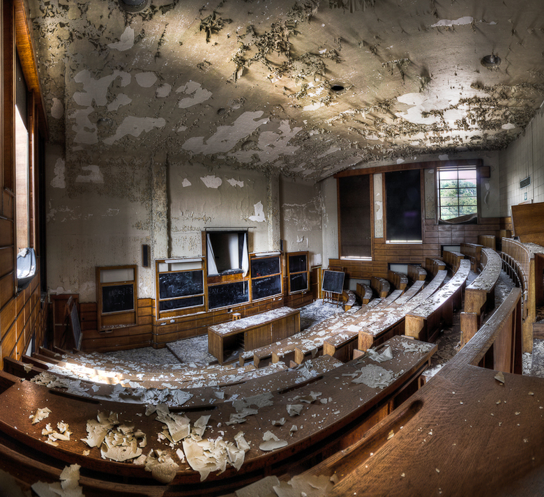 School's out - Abandoned University