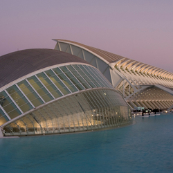 City of Arts and Sciences van Santiago Calatrava