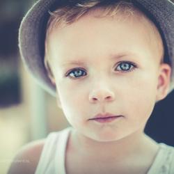 Vintage portret, Luc