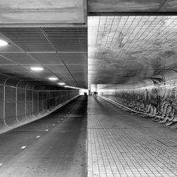 Amsterdamse fiets/wandel tunnel