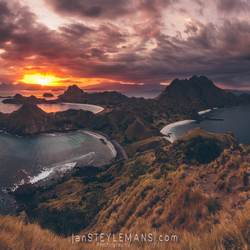 Padar Island, Komodo National Park, Indonesia