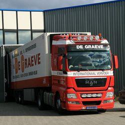 Truck met aanhanger