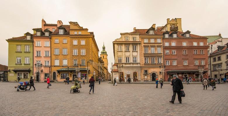 Warschau - Plac Zamkowy