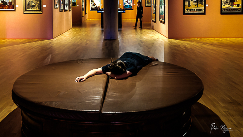 het museum -