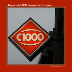 Gaper van C1000 Bouwmans Deurne