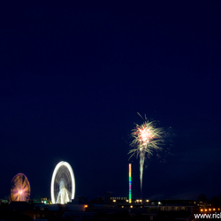 Kermis en vuurwerk