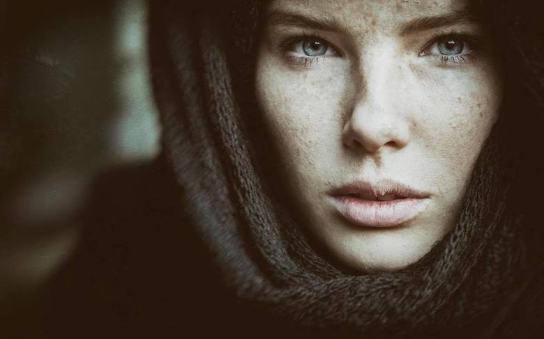 Girl with the scarf... - Model: Lotte K.<br />