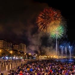 Fiesta en Alicante...