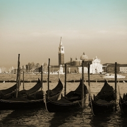 Uitzicht op San Giorgio Maggiore, Venetië