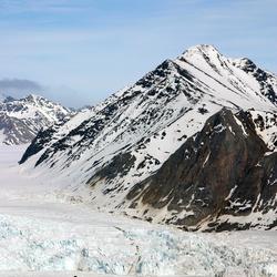 Sneeuwwandelen op Spitsbergen