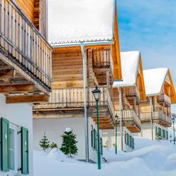 RVG Photography - Huisjes in de sneeuw