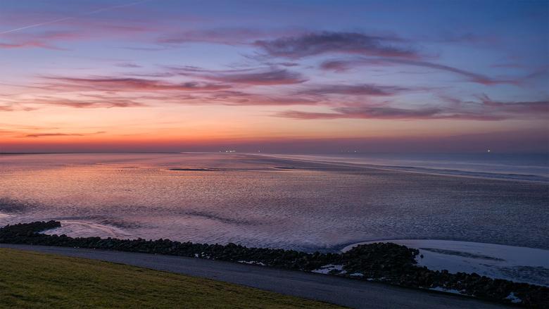 zonsondergang.. - Vandaag van mij een 2de foto, dit was het uitzicht links van het cruiseschip! (zie vorige foto)<br />