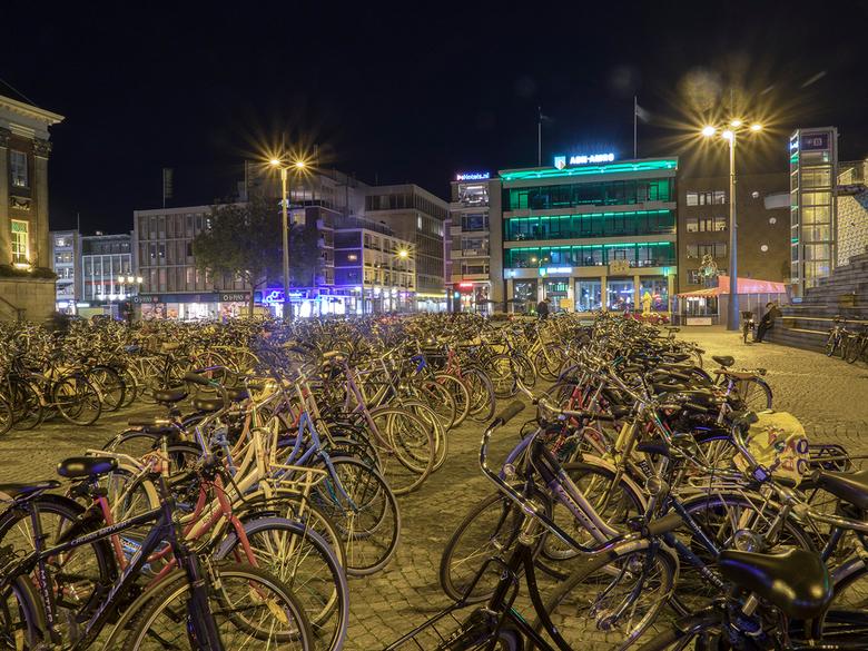 Fietsen.... - in Groningen
