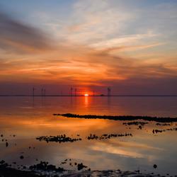 sunset Colijnsplaat