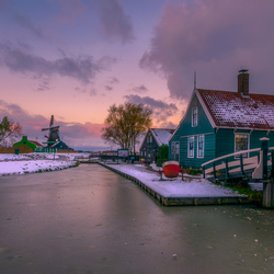 Winter in Zaanse Schans