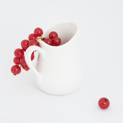 Rode besjes met kannetje