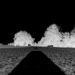 Road te nowhere ? Negative view.
