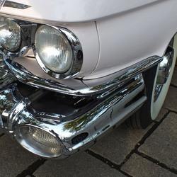 chroom detail Cadillac