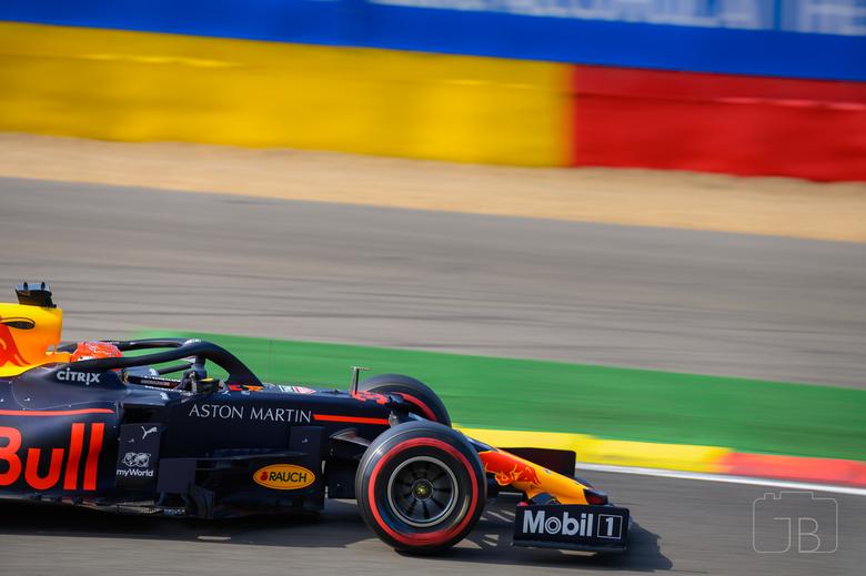 Max @ SPA 2019 - Close Up Max Verstappen<br /> Formula 1 Belgian Grand Prix 2019<br /> Turn 10 (Bruxelles)
