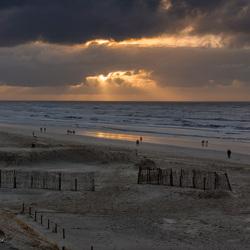 Sunset @Zandvoort