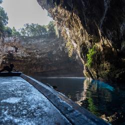 Melissani grot Kefalonia