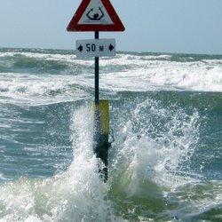 verboden te zwemen