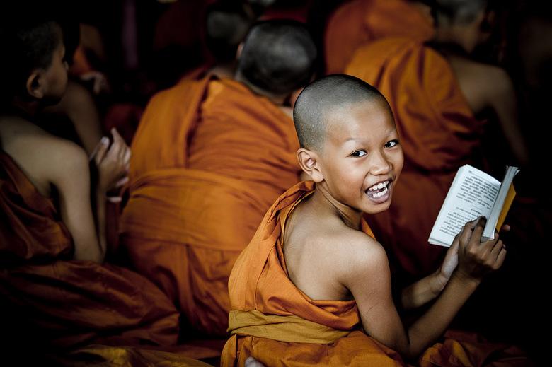 zingende monnik