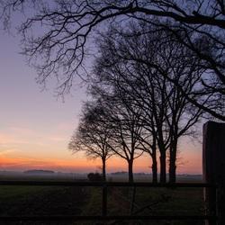 Avond in Drenthe