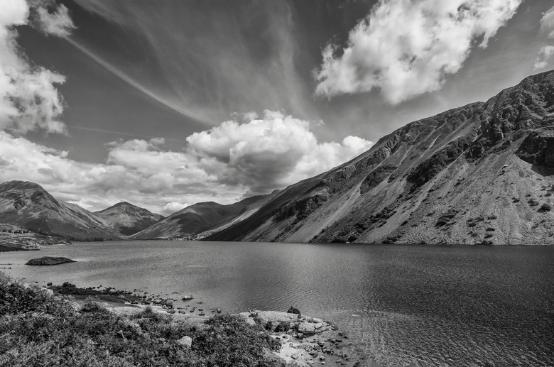 Wastwater  - Wastwater in The Lake District