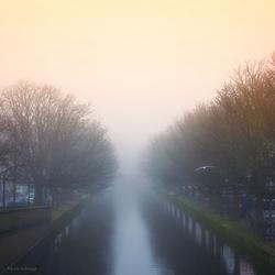 Mistig Den Haag