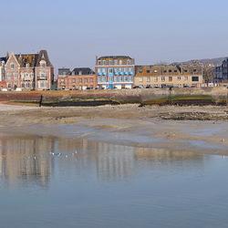 Le Tréport Normandië Frankrijk.