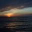 zonsondergang vanaf een cruiseschip