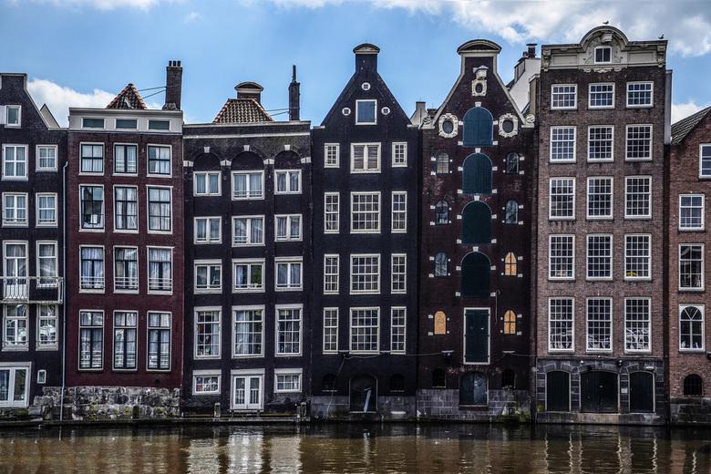 Amsterdamse huizen -
