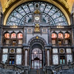 Binnenruimte station Antwerpen