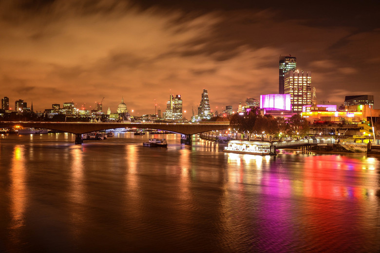 Londen at night - Londen city at night.