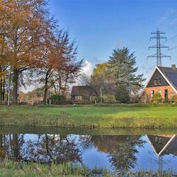 Boerderij aan de Gravenweg en Groeneveldsweg