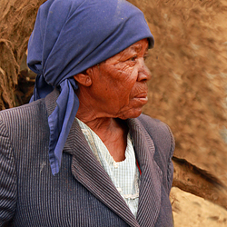 Namibie vrouw.