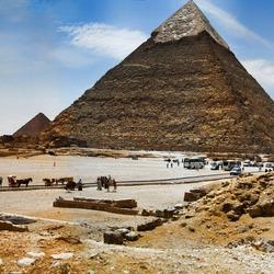 Piramide gizeh Egypte