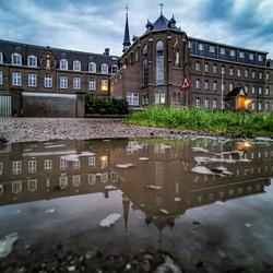 Monastery reflection