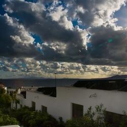mooie luchten op Lanzaroot