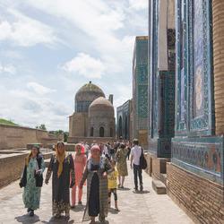 Samarkand (Oezbekistan) - Shah i Zinda