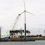P1030792  Optisch grapje Werkschip op windenergie 9 sept 2018