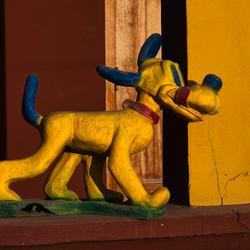 Pluto de waakhond !