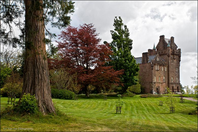 Brodick Castle - Op Arran lag dit prachtige kasteel met zijn gigantische tuinen