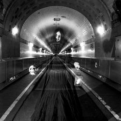 De oude tunnel