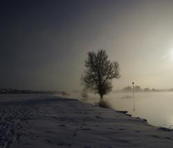 IJssel in de kou